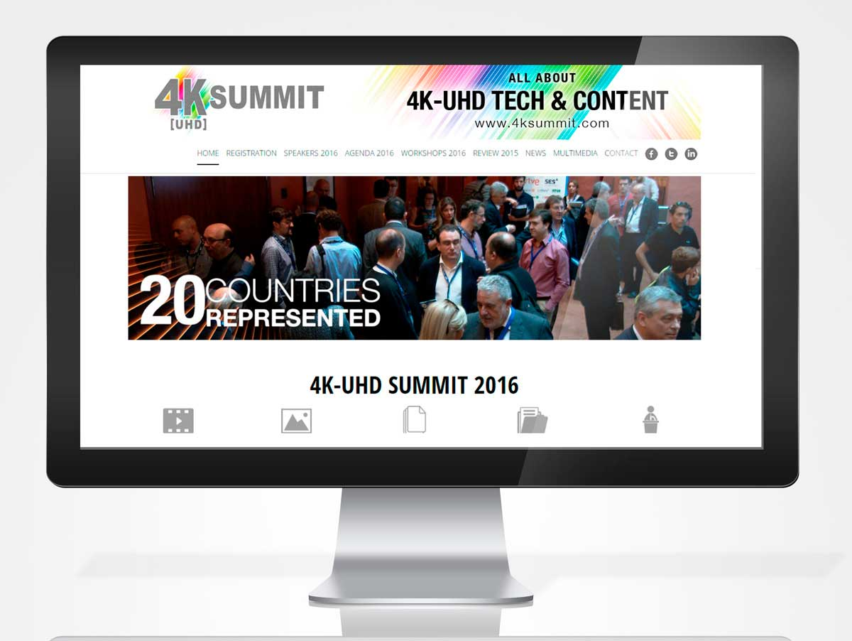 Diseno Web 4K SUMMIT