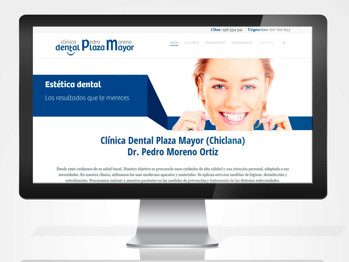 Diseño Web - Clínica Dental